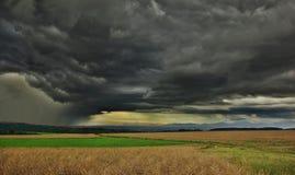 Batidas da tempestade Fotografia de Stock