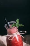 Batido da melancia no estilo do rusitc Fotos de Stock Royalty Free