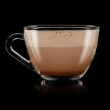 Batido de leche del chocolate Foto de archivo libre de regalías
