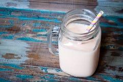 Batido de leche del Smoothie Foto de archivo libre de regalías
