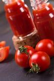 Batido dos tomates Foto de Stock Royalty Free