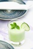 Batido vegetal de refrescamento Imagem de Stock