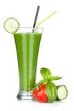 Batido vegetal verde Foto de Stock