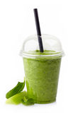 Batido vegetal verde Imagens de Stock Royalty Free