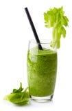 Batido vegetal verde Fotografia de Stock