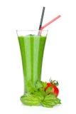 Batido vegetal verde Foto de Stock Royalty Free