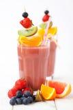 Batidos de fruta foto de stock