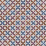 Batik único, kontemporer del adorno del batik Fotografía de archivo libre de regalías
