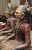 Batik 2 de poupées Photo libre de droits