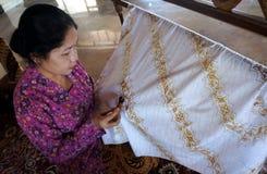 Batik Imágenes de archivo libres de regalías