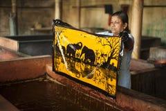 batik Image libre de droits