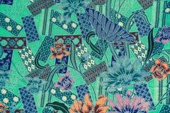 batik Imagen de archivo libre de regalías