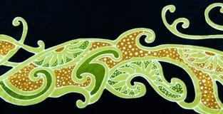 Batik Abstract II Stock Photo