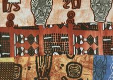 Batik africain. Images libres de droits