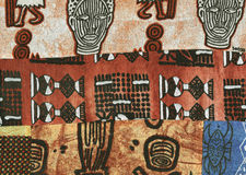 Batik africano. Imagens de Stock Royalty Free