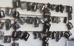 Batik-Ausrüstung stockfotografie