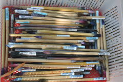 Batik-Ausrüstung lizenzfreies stockfoto