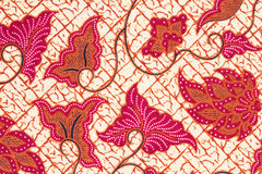 Batik background. Stock Photos