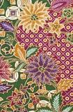 Batik background. Nature concept of batik pattern Royalty Free Stock Photos