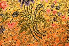 Batik. Beautiful batik floral patterns., background stock photography