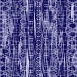Batik blu Fotografia Stock