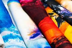 Batik chino del proceso tradicional imágenes de archivo libres de regalías