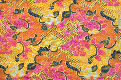 Batik cloth Royalty Free Stock Images