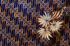 Batik cloth Stock Photography