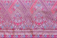 Batik cloth fabric texture background Royalty Free Stock Photos
