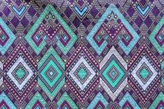 Batik cloth fabric texture background Stock Images