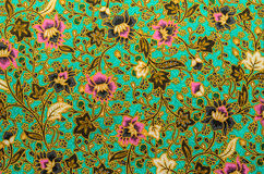 Batik cloth pattern Royalty Free Stock Photo