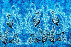 Batik cloth pattern Royalty Free Stock Images