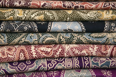 Batik clothes Royalty Free Stock Photos