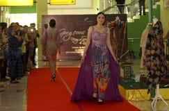 Batik clothes Stock Image