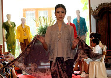 Batik clothes Stock Photo