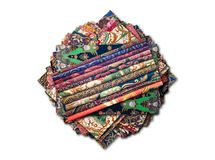Batik Collage Stock Photo