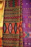 Batik colorido Fotografía de archivo libre de regalías