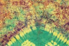 Batik colorido del algodón Fotos de archivo libres de regalías