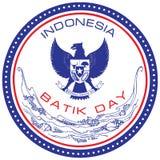 Batik Day Indonesia Royalty Free Stock Photos