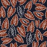 Batik de Indonésia ilustração royalty free