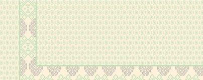 Batik de Indonesia ilustración del vector