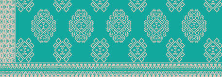 Batik de Indonesia stock de ilustración