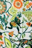 Batik de la decoración Fotografía de archivo libre de regalías