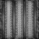Batik del papel pintado en el negro y la plata Parang Fotos de archivo