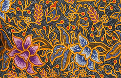 Batik design Stock Image