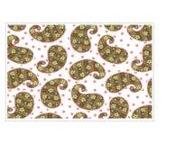 Vector Batik design style patterns royalty free illustration