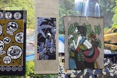 Batik för kinesiskt folk Arkivfoto