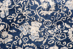 Batik fabric. Detail of a batik fabric Royalty Free Stock Photo