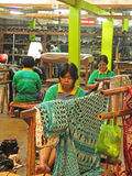 Batik factory Royalty Free Stock Image