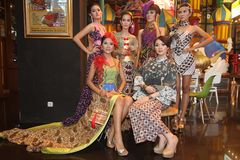 Batik Fashion Stock Photos